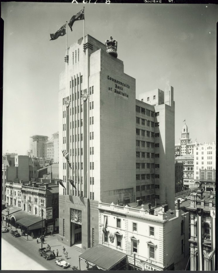 Commonwealth Bank 219 Bourke St