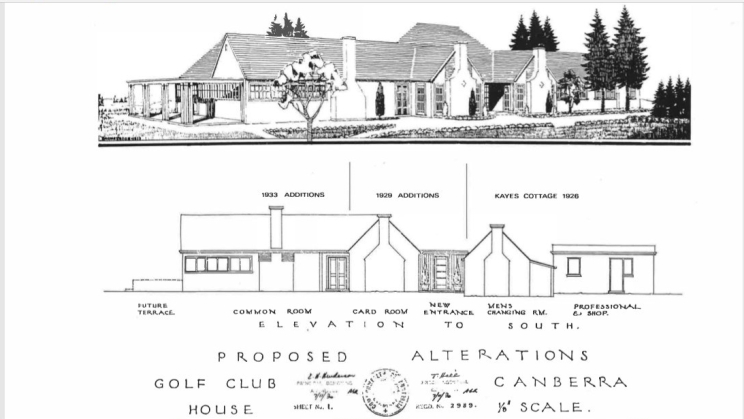 Royal Canberra Golf Club Extensions by Henderson