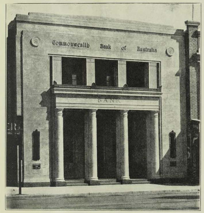 Buildiing 1932 - Cth Bank Inverell