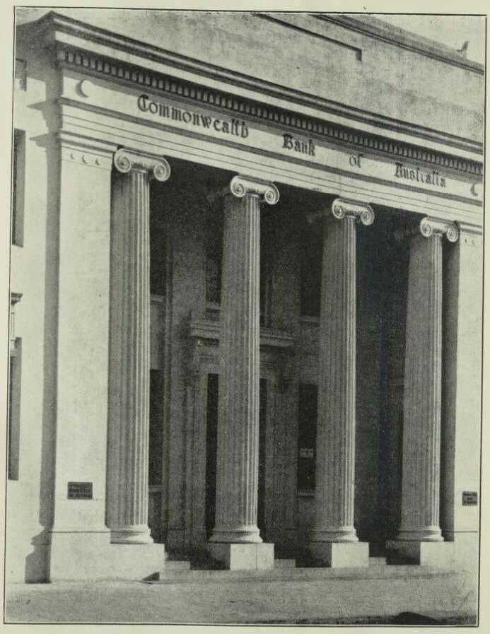 Buildiing 1932 - Cth Bank Maryborough