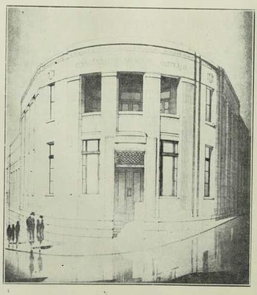 Buildiing 1932 - Cth Bank North Sydney