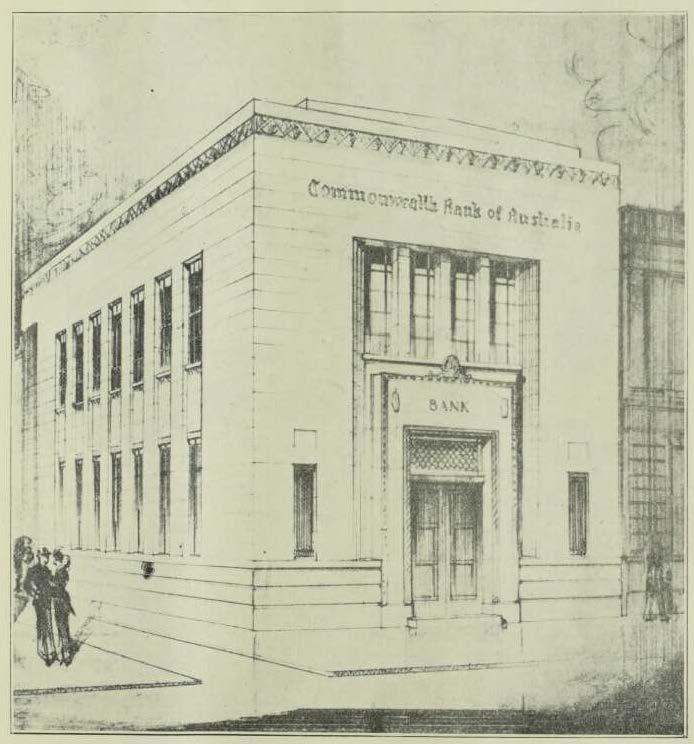 Buildiing 1932 - Cth Bank Prahran