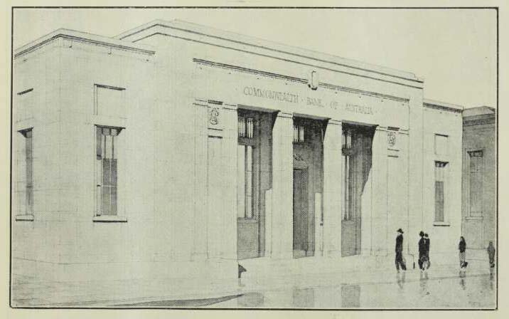 Buildiing 1932 - Cth Bank Rockhampon