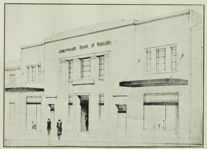 Buildiing 1932 - Cth Bank Wollongong