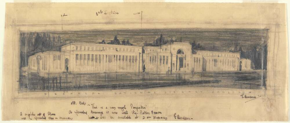 National Library Sketch